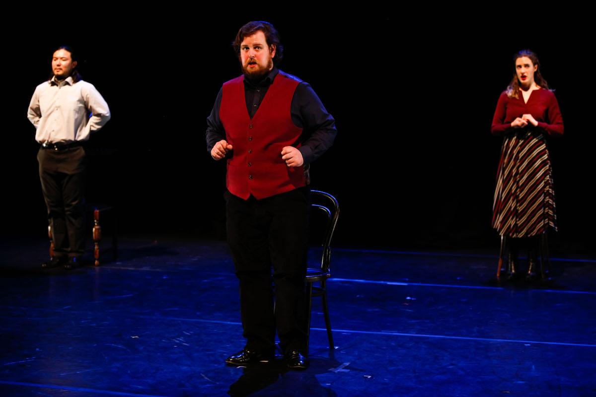 A scene from La Cenerentola by Rossini, RCS Opera Scenes (photo credit: Royal Conservatoire of Scotland)